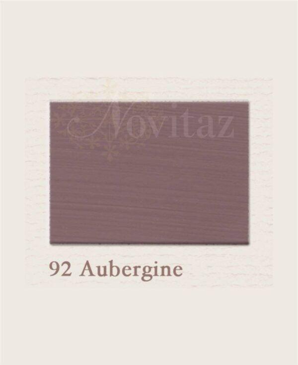 Aubergine 92 painting the past