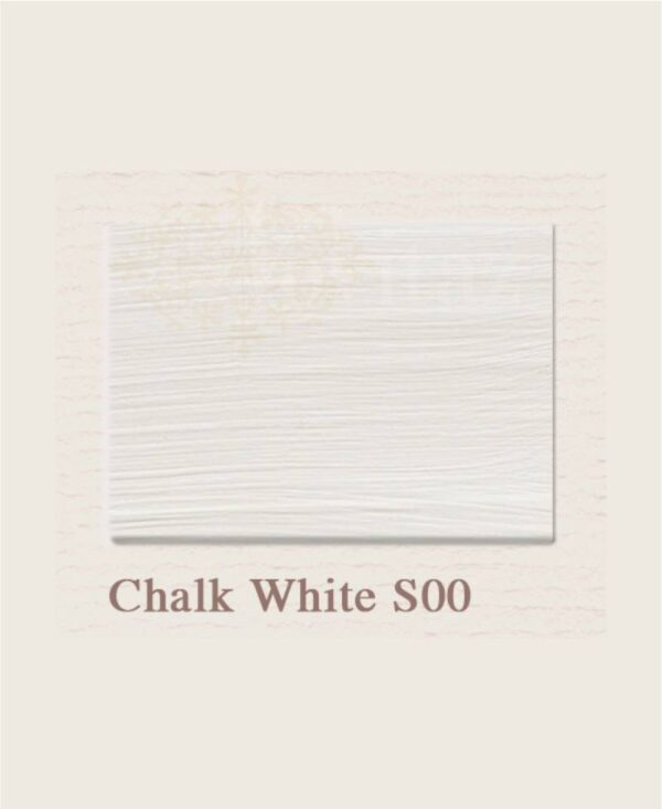 Chalk White S00 painting the past