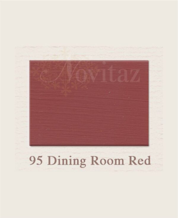 Dining Room Red 95 painting the past