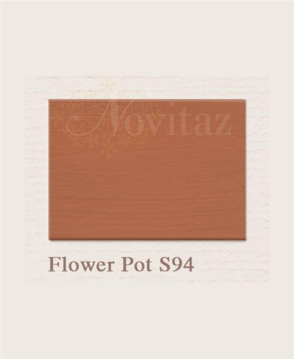 Flower Pot S94 painting the past