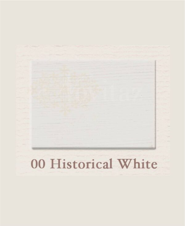 Historical white 00 painting the past