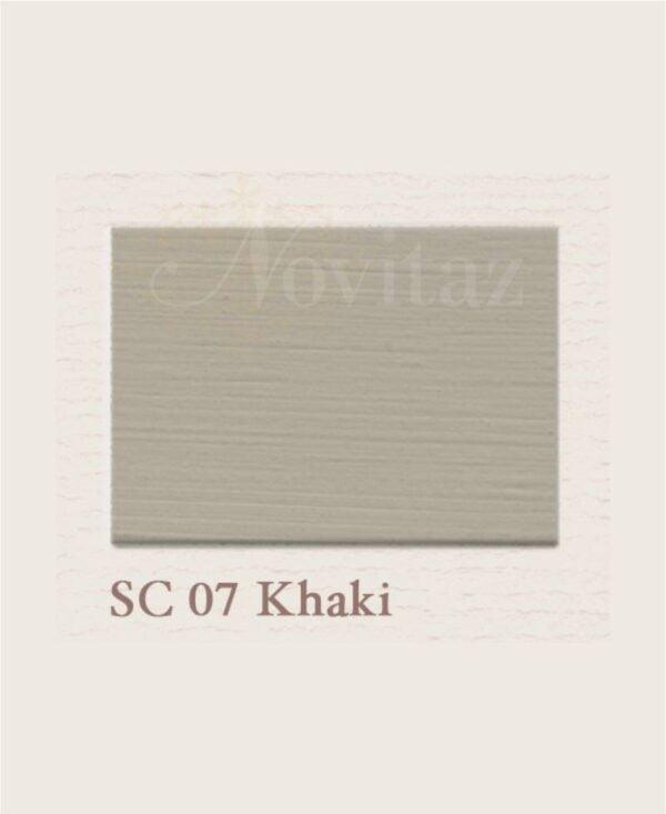 Khaki SC07 painting the past