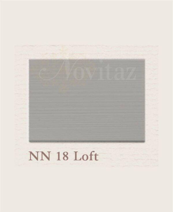 Loft NN18 painting the past