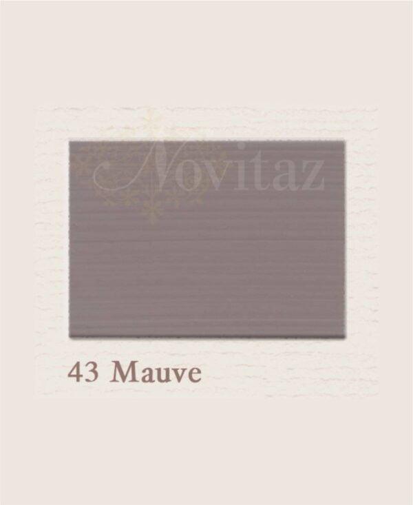 Mauve 43 painting the past
