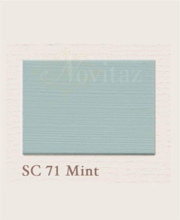 Mint SC71 painting the past