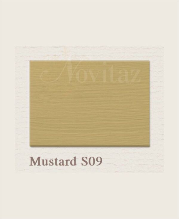 Mustard S09 painting the past