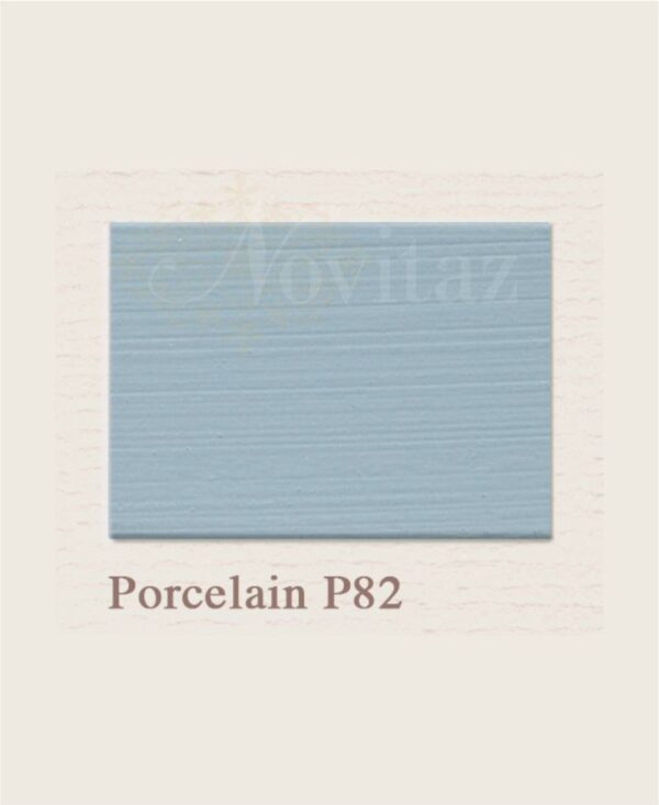 Porcelain P82 painting the past