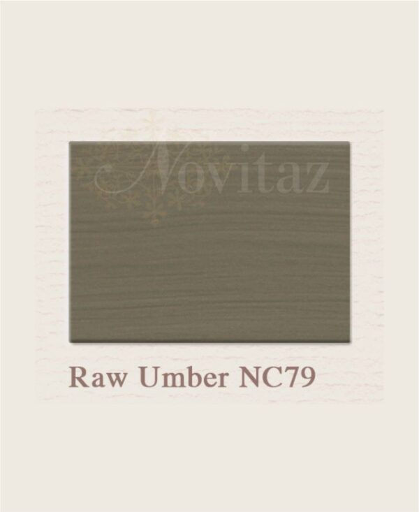 Raw Umber NC79 painting the past