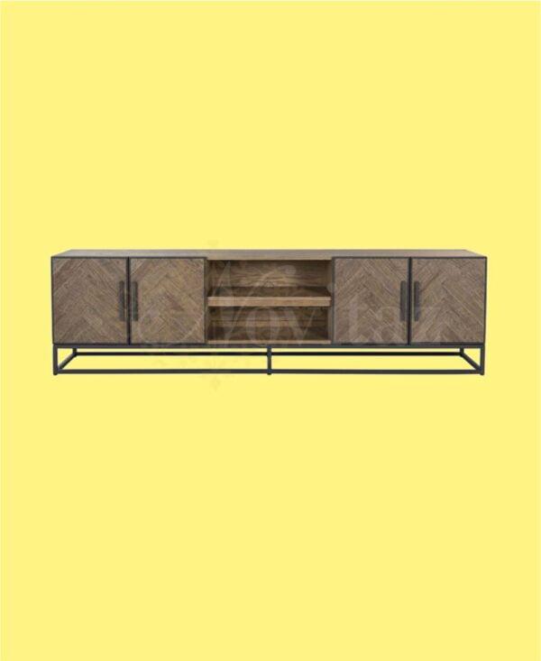 TV-dressoir-Herringbone-4-deuren